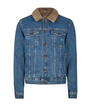 Love Victor S02 Victor Denim Blue Jacket