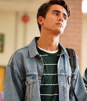 Love Victor Salazar Denim Blue Jacket