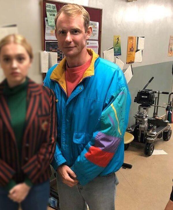 Sex Education Season 2 Jack Helsby Blue Jacket
