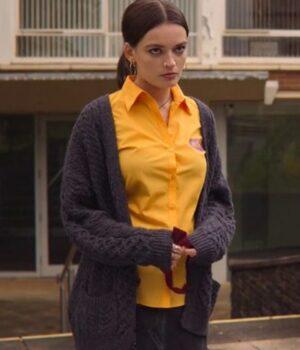 Sex Education Season 2 Maeve Wiley Grey Sweater