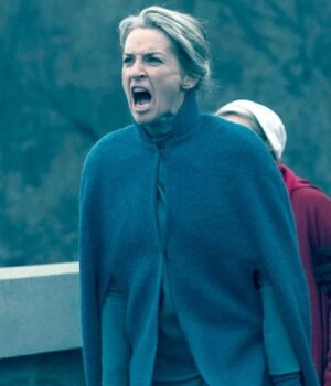 The Handmaids Tale Serena Joy Waterford Green Wool Coat