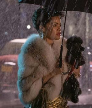 The United States vs. Billie Holiday 2021 Andra Day Fur Jacket