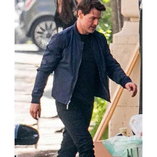 Tom Cruise Mission Impossible 6 Blue Cotton Jacket