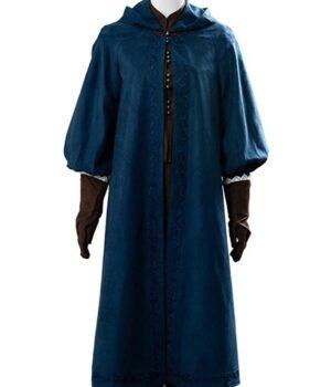 The Witcher Ciri Cotton Blue Coat