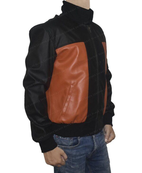 Dragon Ball Z Goku 59 Leather Jacket Right