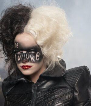 Cruella de Vil Cruella 2021 Real Leather Jacket