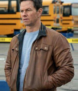 Spenser Confidential Mark Wahlberg Brown Jacket