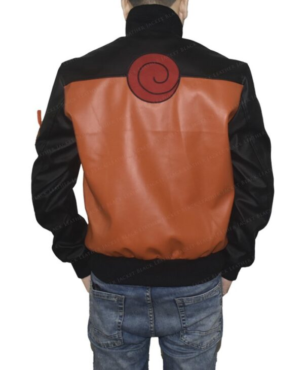 Dragon Ball Z Goku 59 Leather Jacket Back