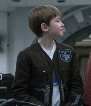 Will Robinson Lost In Space Brown Jacket