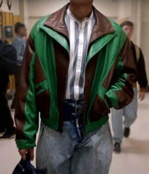 Young Rock Dwayne Johnson Faux Leather Jacket