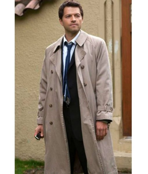 Castiel Supernatural Light Brown Cotton Coat