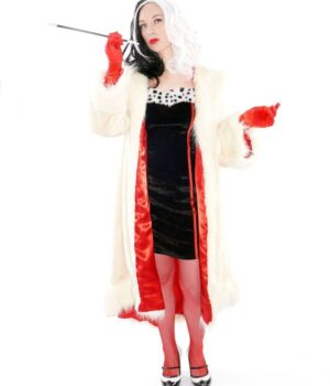 Deville Cruella 2021 Fur Cream Color Coat