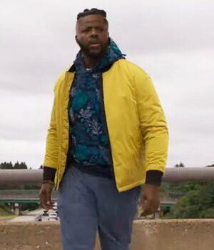 Spenser Confidential Hawk Cotton Yellow Jacket