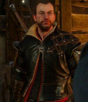 The Witcher Season 3 Lambert Brown Jacket