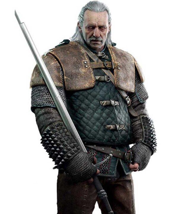 The Witcher Season 3 Vesemir Jacket