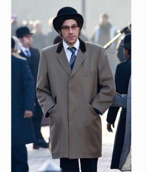 Joel Fry Cruella 2021 Beige Coat