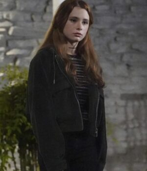 Walker 2021 Stella Walker Corduroy Black Jacket