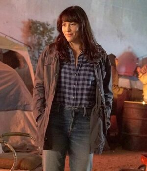 9-1-1 Lone Star Michelle Blake Cotton Fabric Jacket