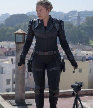 Black Widow Yelena Belova Black Jacket