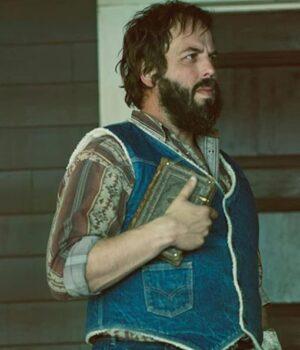 Fargo Bear Gerhardt Denim Blue Vest