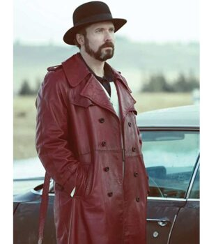 Fargo Gale Kitchen Red Trench Coat