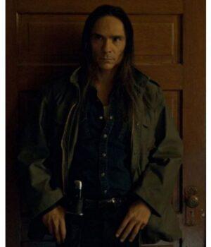 Fargo Hanzee Dent Cotton Green Jacket