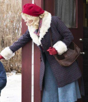 Fargo Peggy Blumquist Wool-Blend Peacoat