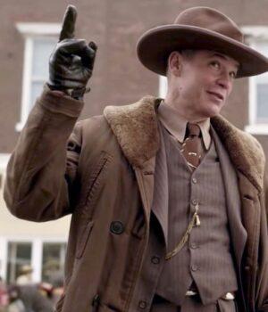 Fargo Season 4 Dick Leather Coat