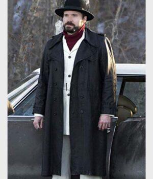 Fargo Wayne Kitchen Black Wool Coat