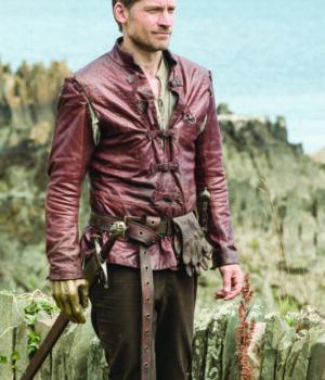 Game Of Thrones Jaime Lannister Brown Belted Jacket