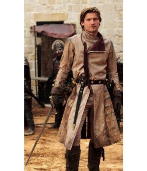 Game Of Thrones Jaime Lannister Brown Coat