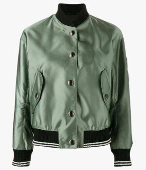 Killing Eve Jodie Comer Green Satin Jacket
