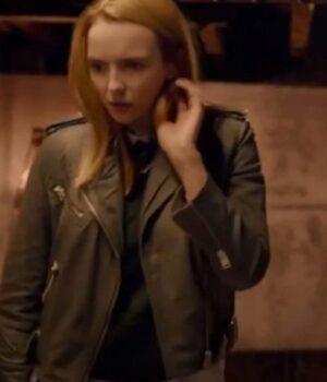 Killing Eve S04 Villanelle Leather Brown Jacket