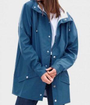 Killing Eve Season 03 Eve Polastri Cotton Hooded Coat