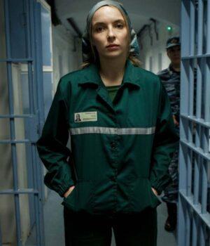 Killing Eve Villanelle Green Cotton Jacket