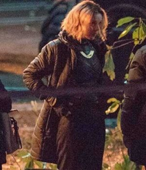 Loki Sophia Di Martino Parachute Black Coat