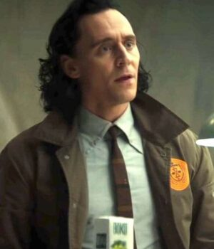 Loki Tom Hiddleston Cotton Brown Coat