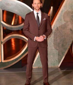 Loki Tom Hiddleston Photoshoot London Blazer