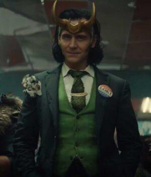 Loki Tom Hiddleston Suiting Fabric Blazer