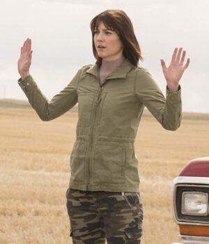 Mary Elizabeth Winstead Fargo Green Jacket