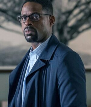 This Is Us Randall Pearson Cotton Blue Coat