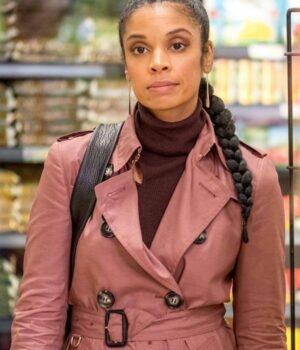 This Is Us Susan Kelechi Watson Pink Coat