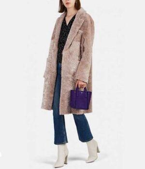 Younger S06 Liza Miller Shearling Fur Coat