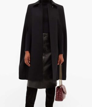 Younger S07 Kelsey Peters Wool Cape Coat