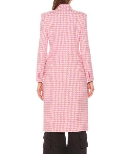 Younger Season 7 Kelsey Peters Checkered Coat