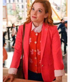 Zoeys Extraordinary Playlist Jane Levy Red Blazer