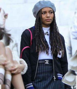 Gossip-Girl-Monet-De-Haan-Black-Jacket-Image