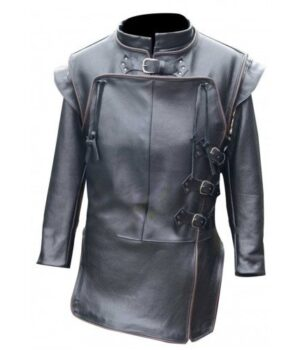 Jon-Snow-Game-Of-Thrones-Costume-Belted-Closure-Jacket-Front
