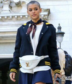 Jordan-Alexander-Gossip-Girl-Black-Varsity-Jacket-Image