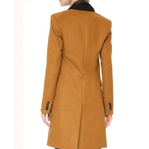 Manifest-Michaela-Stone-Brown-Wool-Coat-Back-